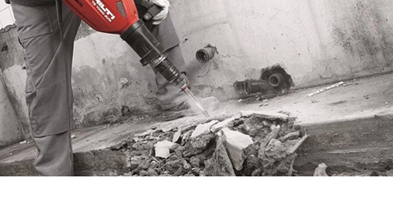 Демонтаж бетонного пола в Минске и области