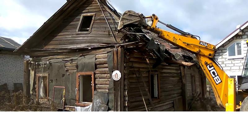 Демонтаж дома в Минске и области