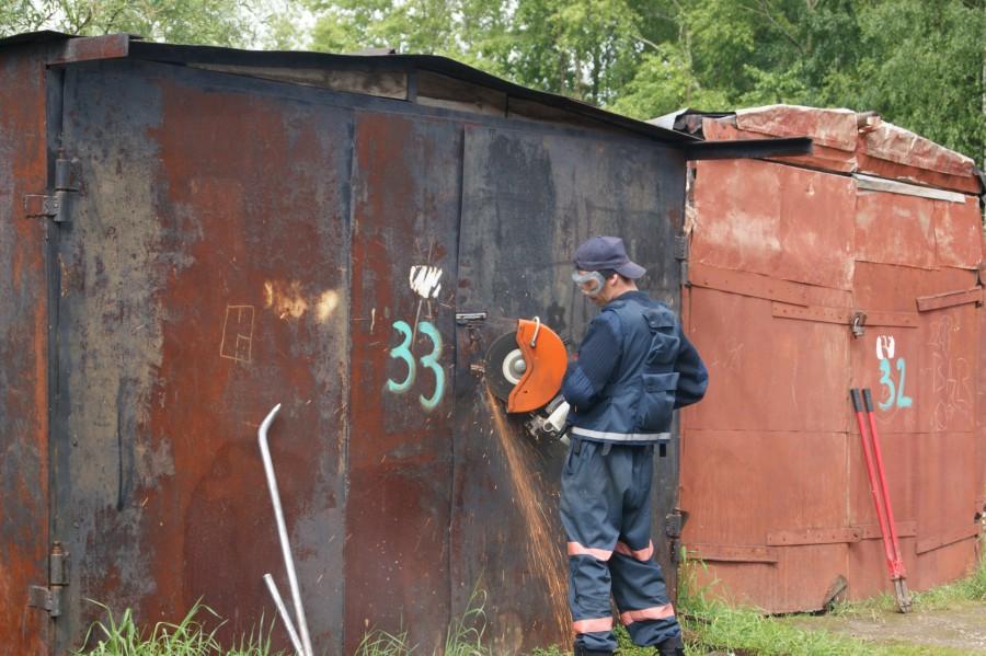 Демонтаж гаража в Минске и области