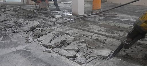 Демонтаж стяжки в Минске и области